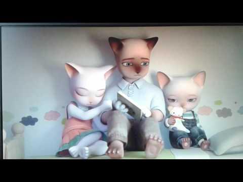 Трогательный мультфильм до слёз . Три Маленьких Кошки
