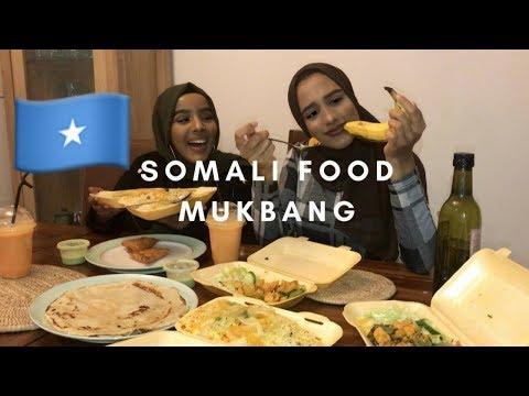 NIGERIAN TRIES SOMALI FOOD FOR THE FIRST TIME | Somali mukbang thumbnail