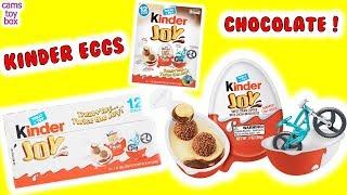 OPENING Box of Kinder Joy Chocolate Surprise EGGS TOYS