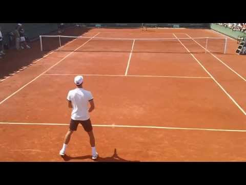 French Open 2012 - Novak Djokovic - Practice
