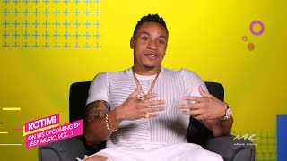 Rotimi Talks 'Jeep Music, Vol. 1' EP