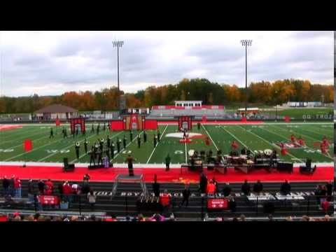 New Palestine High School Marching Band: Enter The Dragon 10/18/14