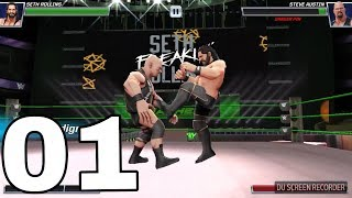 LIVE GAME WWE SHOW 2018|| PHẦN 2 TẬP 1 GAME WWE LEVEL NEW||CHƠI LẠI CẤP THẤP PHÊ LẮM Á MẤY MÉ