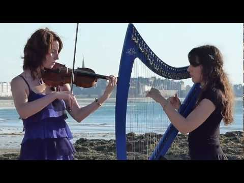 TITANIC Theme Song - My Heart Will Go On - Harp / Violin