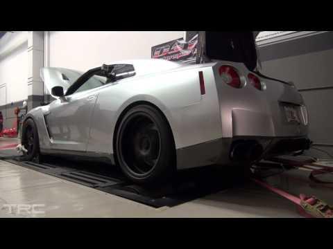 Nissan GTR GODZILLA  dyno low boost!
