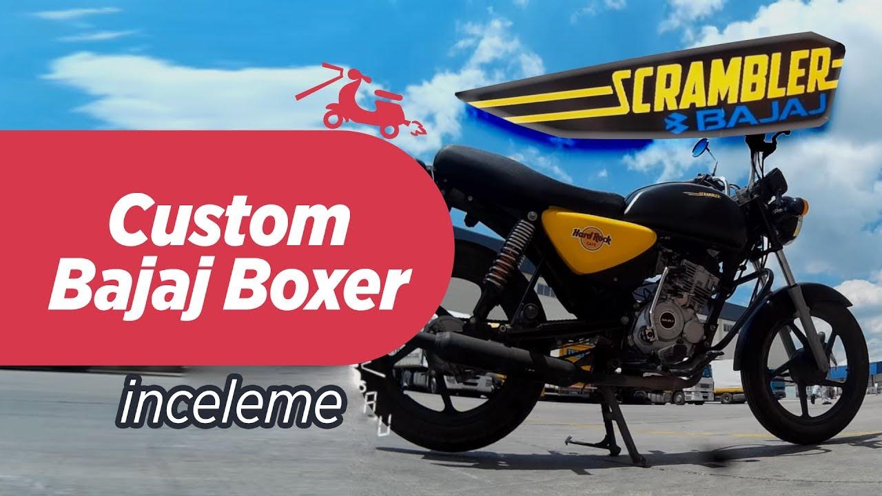 Custom Bajaj Boxer 150