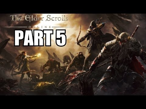 The Elder Scrolls Online Gameplay Walkthrough Part 5 - PC Ultra Settings Review Playthrough