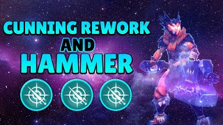 Hammer with Cunning is Broken | 2 Hammer Builds | Dauntless Patch 0.6.10