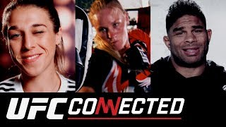 UFC Connected: Valentina Shevchenko, Joanna Jedrzejczyk, Alistair Overeem