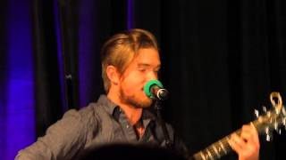 Chris Brochu sings at TVD Chicago Concert