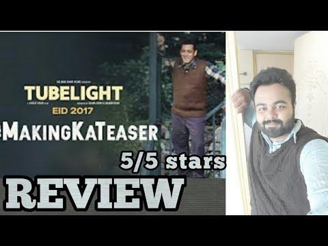 Tubelight Ki Making Ka Teaser   Reaction   Review   Salman Khan