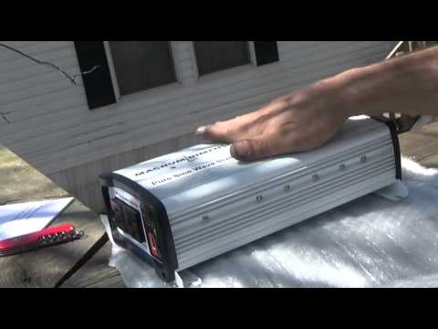 Magnum CSW1012 Pure Sine Wave Inverter 1000w Unboxing and Review