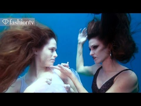 Black & White Diamonds Underwater Photoshoot! Behind The Scenes With Gorgeous Models | Fashiontv video
