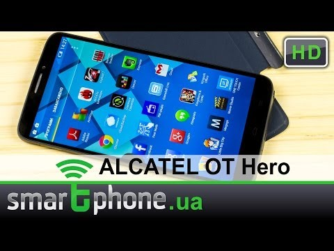 ALCATEL ONETOUCH Hero - обзор. Дисплей 6 дюймов, стилус и 2 ГБ ОЗУ