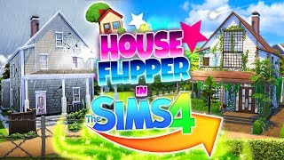 HOUSE FLIPPER CHALLENGE IN SIMS 4?! 🏚🏡