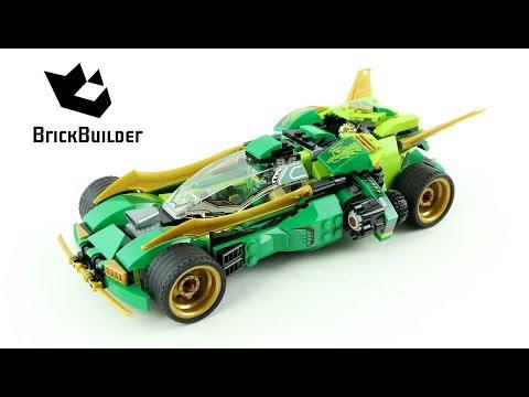 Lego Ninjago 70641 Ninja Nightcrawler  - Lego Speed build