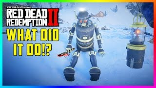 You WON'T Believe What This Robot Did In Red Dead Redemption 2 & Why It's Up On A Mountain! (RDR2)