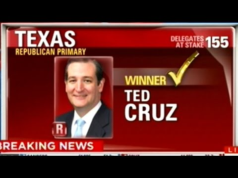 TED CRUZ WINS TEXAS & OKLAHOMA! BERNIE SANDERS WINS OKLAHOMA!