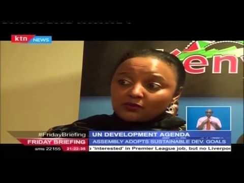 Kenya participates in the UN Development Agenda