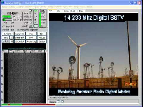 Digital SSTV Decoding