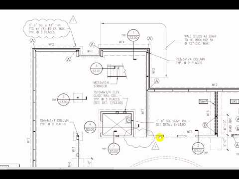 Foundation structural reinforcement grid straps for How to read foundation blueprints