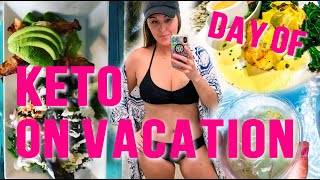 Daily Keto Routine on Vacation in the Florida Keys | What I eat in a day for Fat Loss | Low Carb