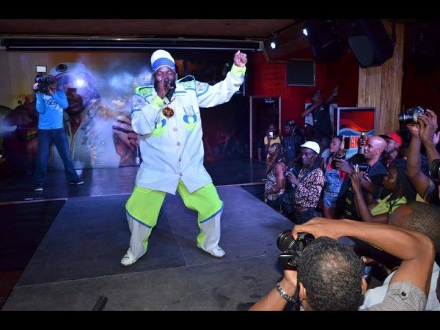 Capleton at Sting 2014 launch
