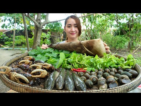 Cooking With Sros: Cooking Special Healthy Wild Soup - Wild Soup Cooking