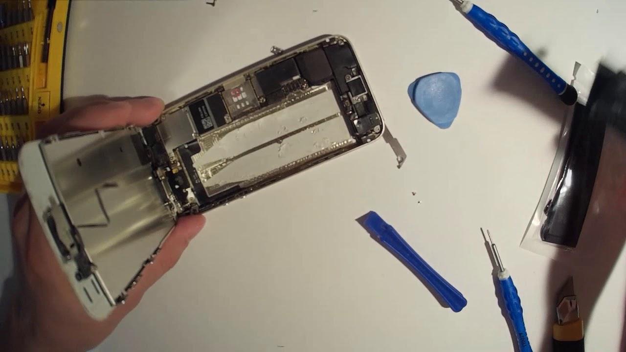 Замена батареи на айфоне 5 своими руками 81