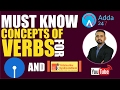 SBI PO 2017 : MUST KNOW CONCEPTS OF VERB FOR SBI AND SYNDICATE BANK MP3