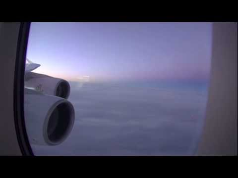 Emirates A380 / New York JFK to Dubai / Part 3 of 5 (HD Video)