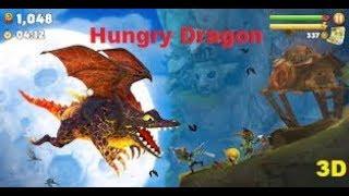 THU BABY  - Game Hungry Dragon -  Rồng 3D Thời Trung Cổ Ăn Thịt Tiến Hóa Siêu Khổng Lồ