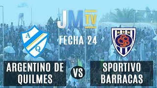 Argentino de Quilmes vs Sportivo Barracas Fecha 24 Primera C 2018/19