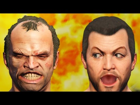 GTA 5 - The Clash Of The Dummies | GTA V Cinematic Skit
