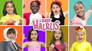 Kids Singing for Kids #6 🦄🦈🐶 Νursery Rhymes & Baby Songs by #ZouzouniaTV