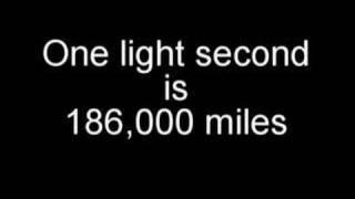 How far is a lightyear?