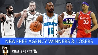 NBA Free Agency Winners & Losers + Day 1 Free Agency Tracker