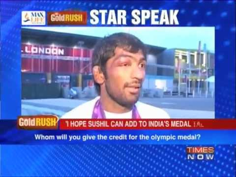 Times Now Exclusive: Yogeshwar Dutt after winning the medal