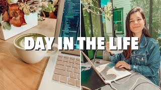 FULL DAY IN MY LIFE AS A SOFTWARE ENGINEER | remote day edition | intern