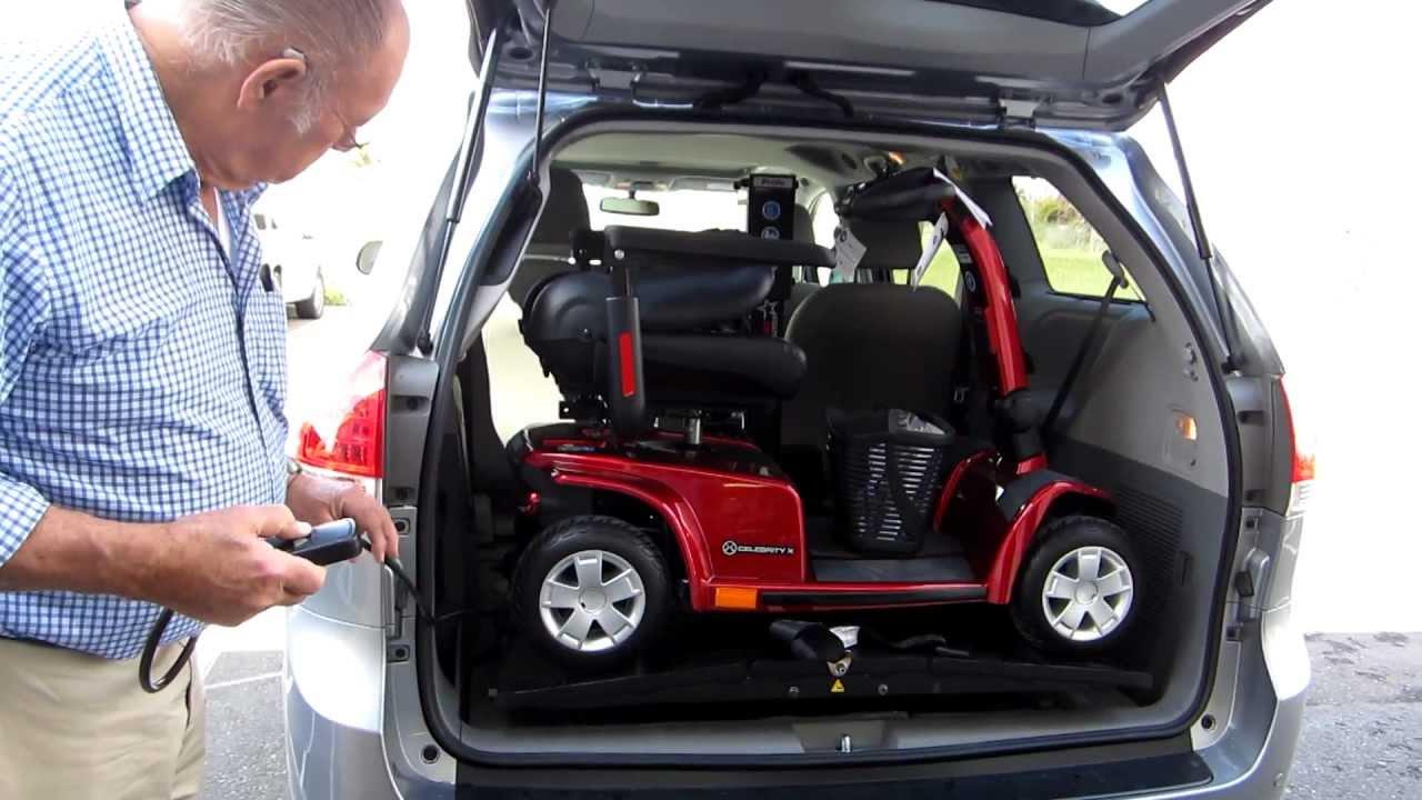 Silver Star Back Packer Plus In A 2012 Toyota Sienna Van