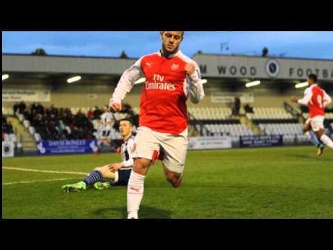 Arsenal midfielder Jack Wilshere survives injury