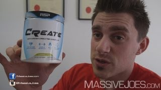 RSP CREATE Blended Creatine Supplement Review - MassiveJoes.com RAW Review Video Blend ATP