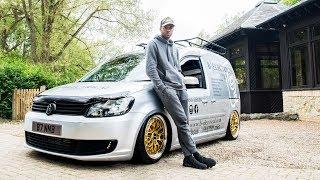 I BUILT A 400bhp VW Caddy Van - LA Carbon Fibre TV Episode 4