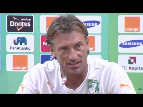 Côte d'Ivoire - Conférence de presse (27/01) - Orange Africa Cup of Nations, EQUATORIAL GUINEA 2015