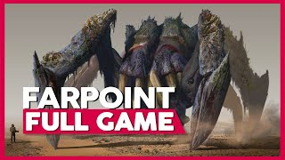 FarPoint | PlayStation VR 60fps | Full Gameplay/Playthrough | No Commentary