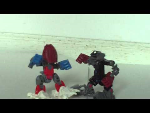 bionicle moc reivew captin america and maxximan Video