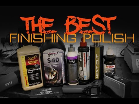 Best Finishing Polish for Cars - Shootout review