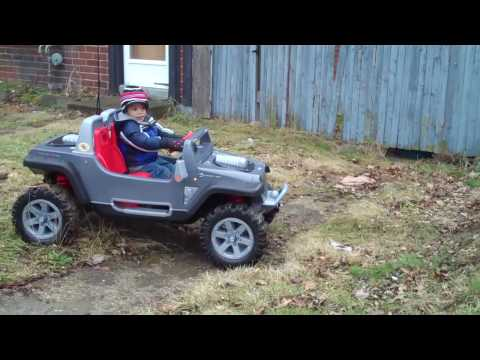 Modified Power Wheels / Reece 2010 Jeep Hurricane power wheels  PART SIX