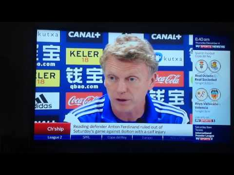 David Moyes has cracked the Spanish language!!!!!!