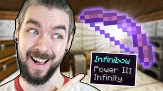 I Got A Bow With INFINITE Ammo In Minecraft